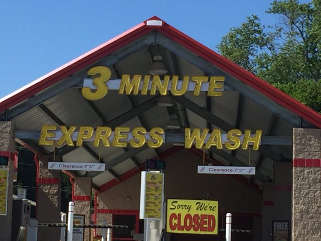3 minute express wash